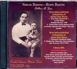 Cembal d'amour CD/DVD 124, Siom & Boris Barere, Father & Son
