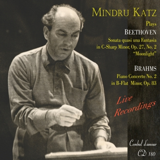 CD 180, Mindru Katz Plays Beethoven & Brahms